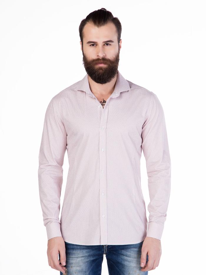 Рубашка Cipo&Baxx CH119 Бургунди