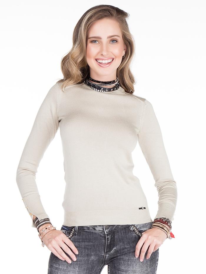 Пуловер Cipo&Baxx WP101 Бежевый