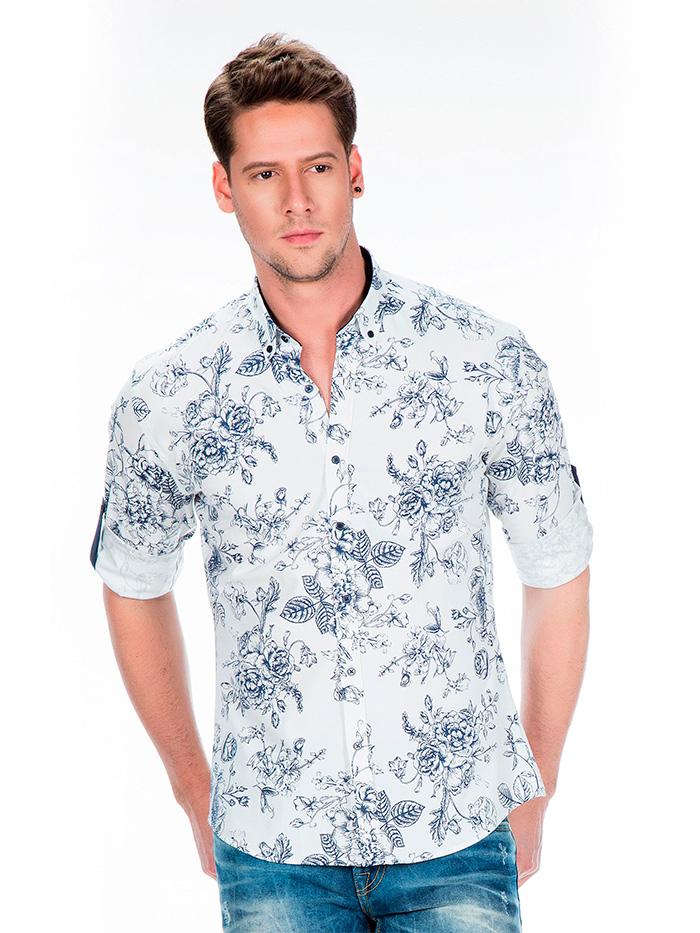 Рубашка Cipo&Baxx CH141 Белая