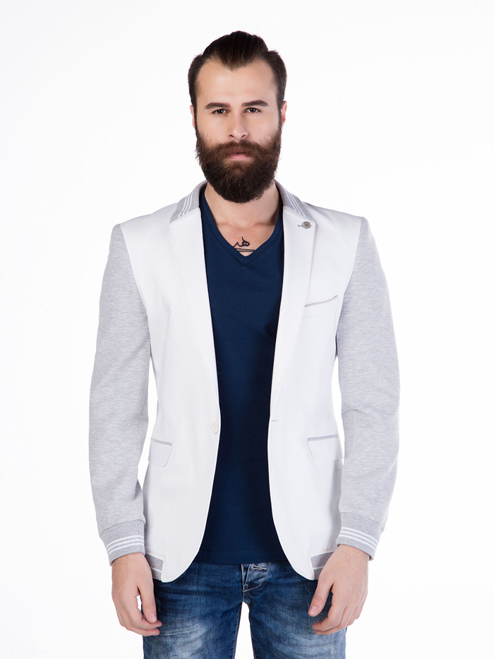 Пиджак Cipo&Baxx CJ126 Белый