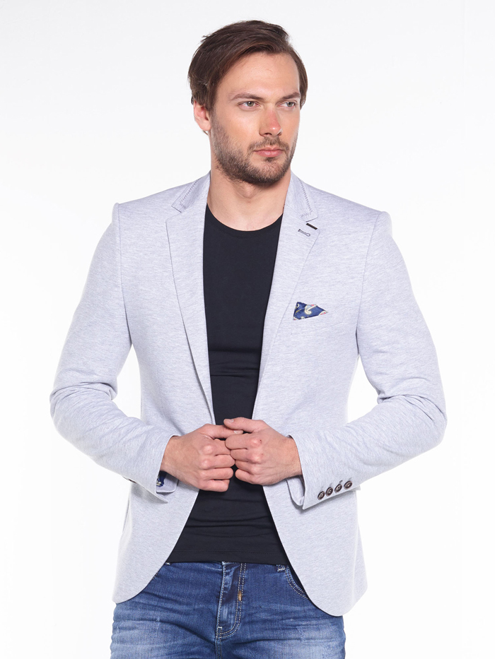 Пиджак Cipo&Baxx CJ165 Серый