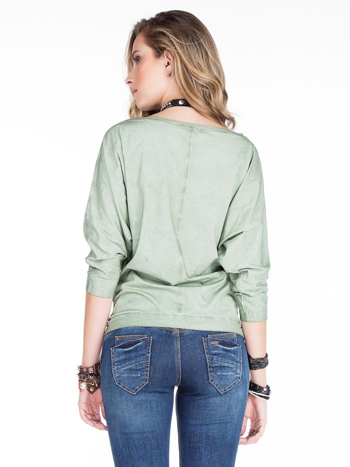 Пуловер Cipo&Baxx WL145 Хаки